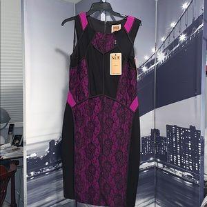Black Purple dress